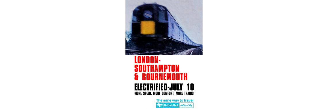 Bournemouth Electrification Poster